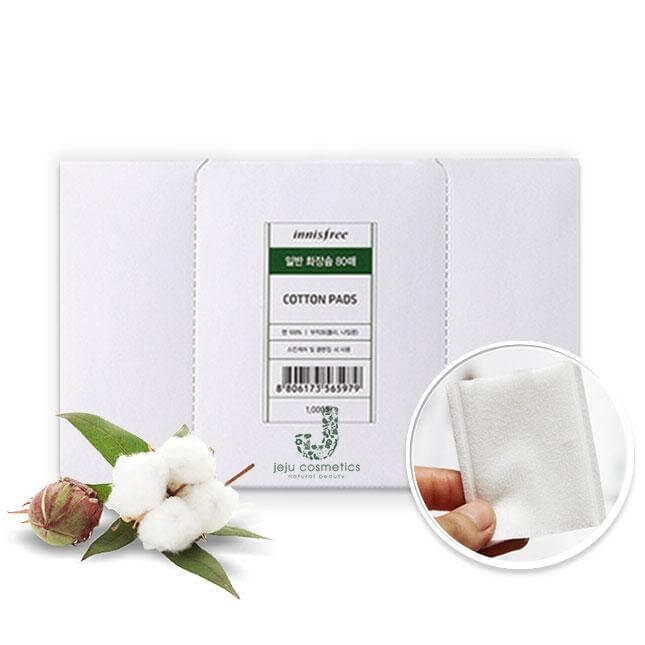 Bông tẩy trang Innisfree Eco Beauty Tool Organic Cotton Pads