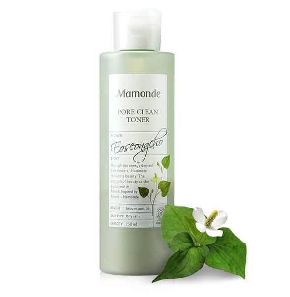 Nước hoa hồng Mamonde Pore Clean