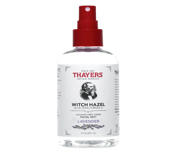 Nước hoa hồng Thayers Alcohol-Free Lavender Witch Hazel Toner Facial Mist