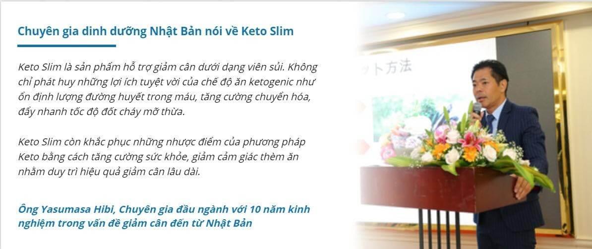Chuyên gia chia sẻ về Kato Slim
