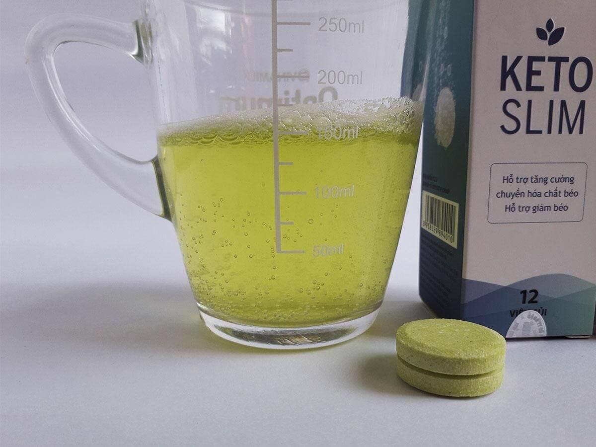 cách dùng viên uống Keto Slim