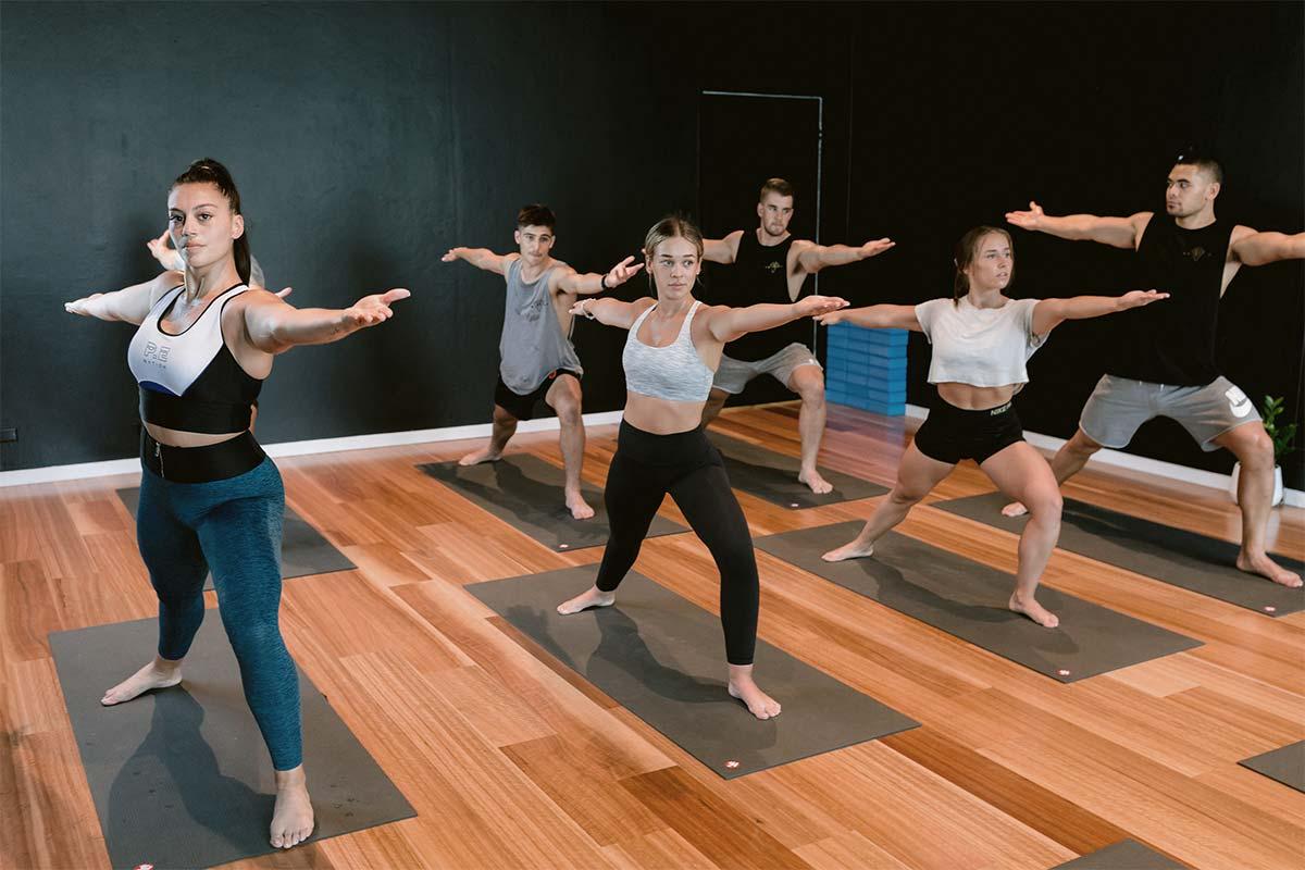 pilates session at vale tudo training