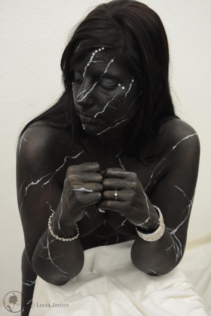 Schwarzer Marmor 3
