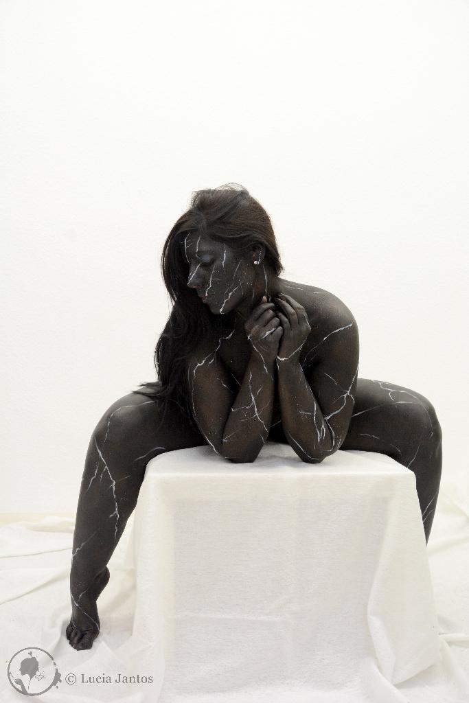 Schwarzer Marmor 4