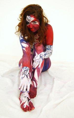 Bizarres Clownkostüm 2