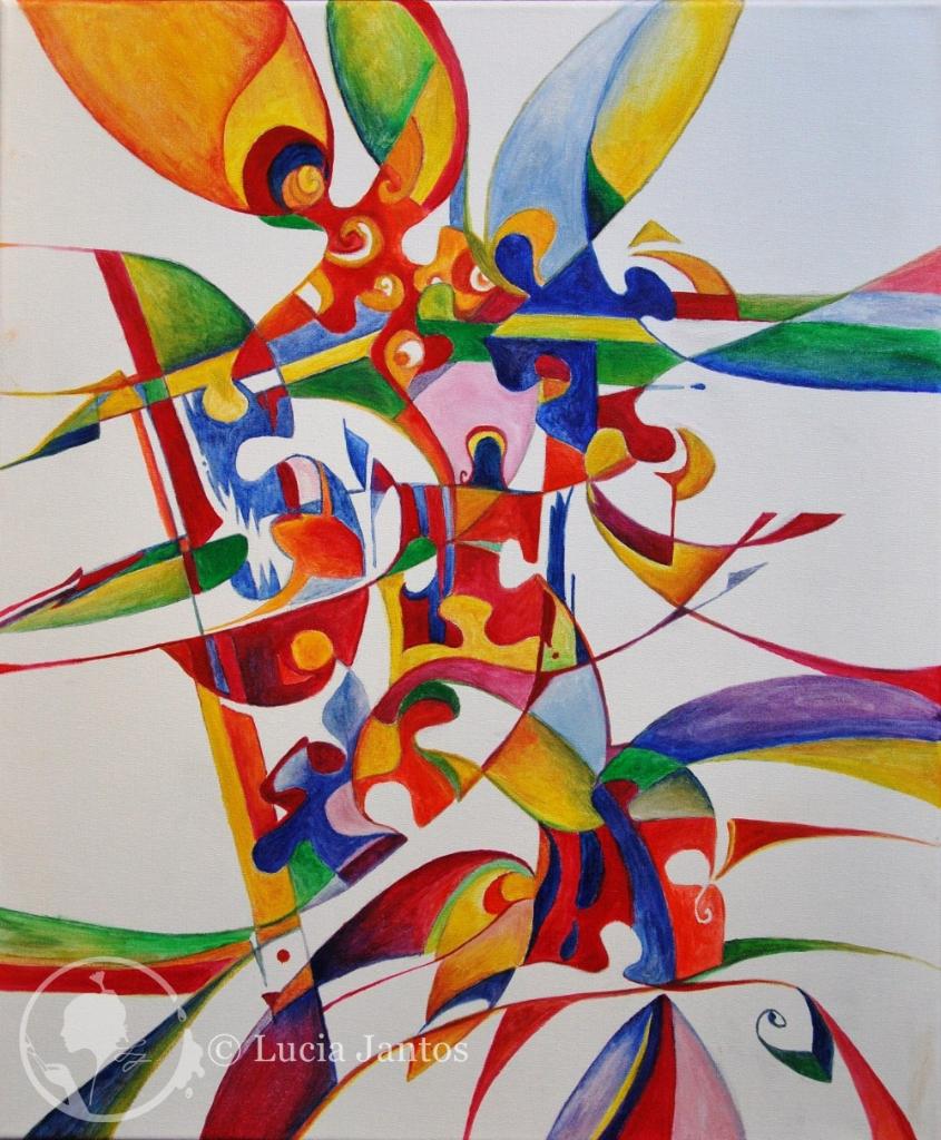 Like Music - Öl auf Leinwand 50x60cm