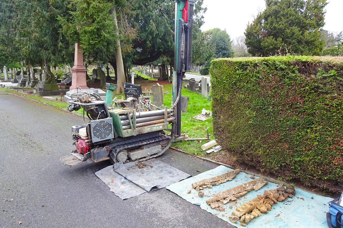 Greywater Assessment Cemetery Risk Assessment Windowless Sampling