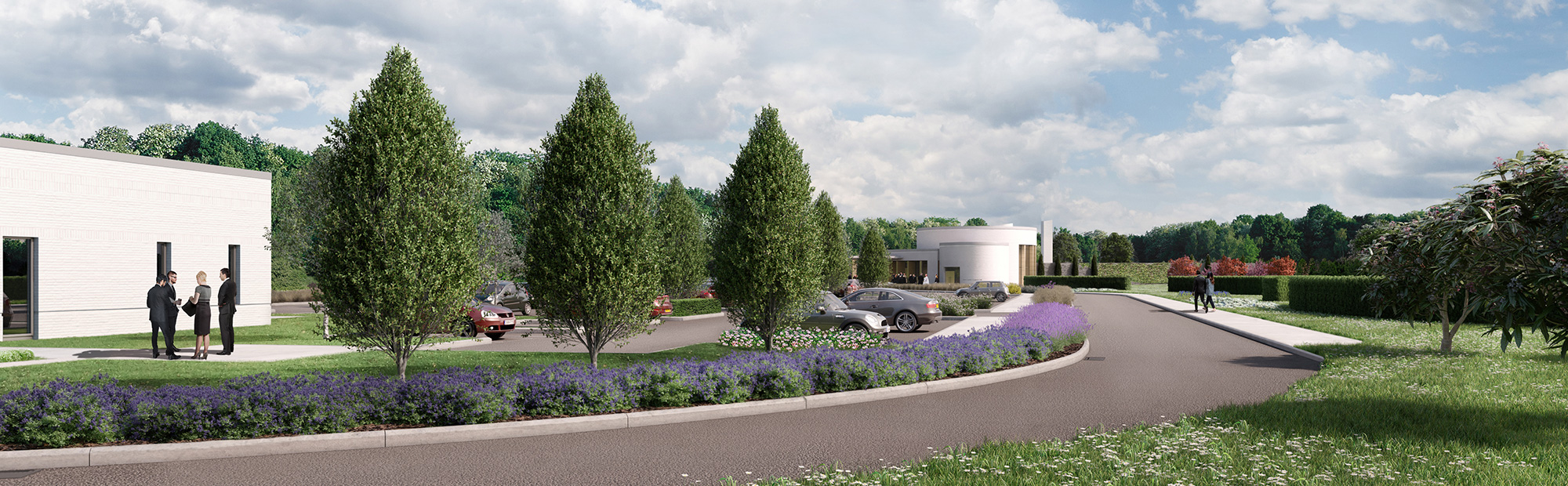 Huntingdon Crematorium Design and Development