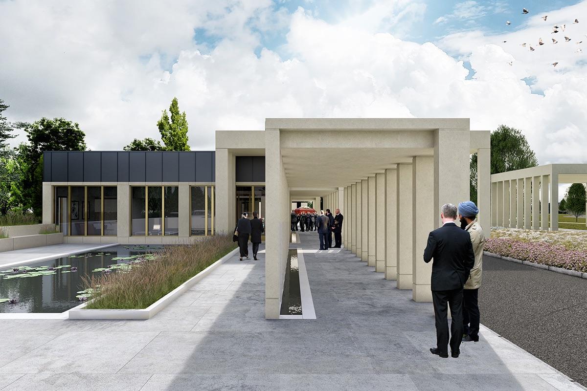 Hinckley and Bosworth Crematorium Design and Development
