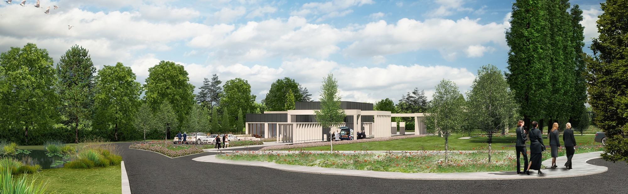 Hinckley and Bosworth Crematorium Design and Development