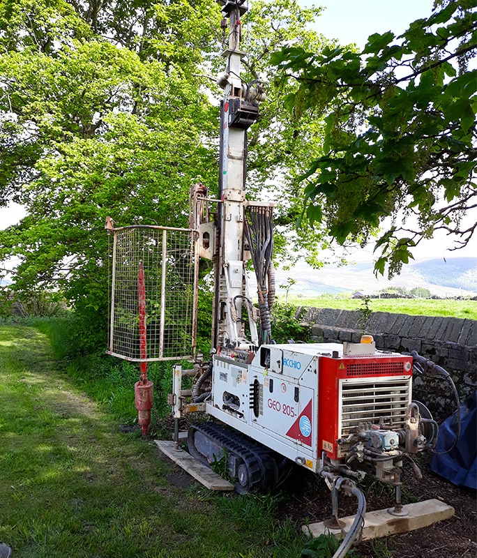 Groundwater Risk Assessment Monitoring Well Installation