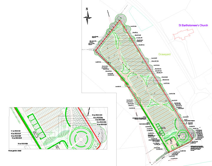 Cemetery Design Planning and development