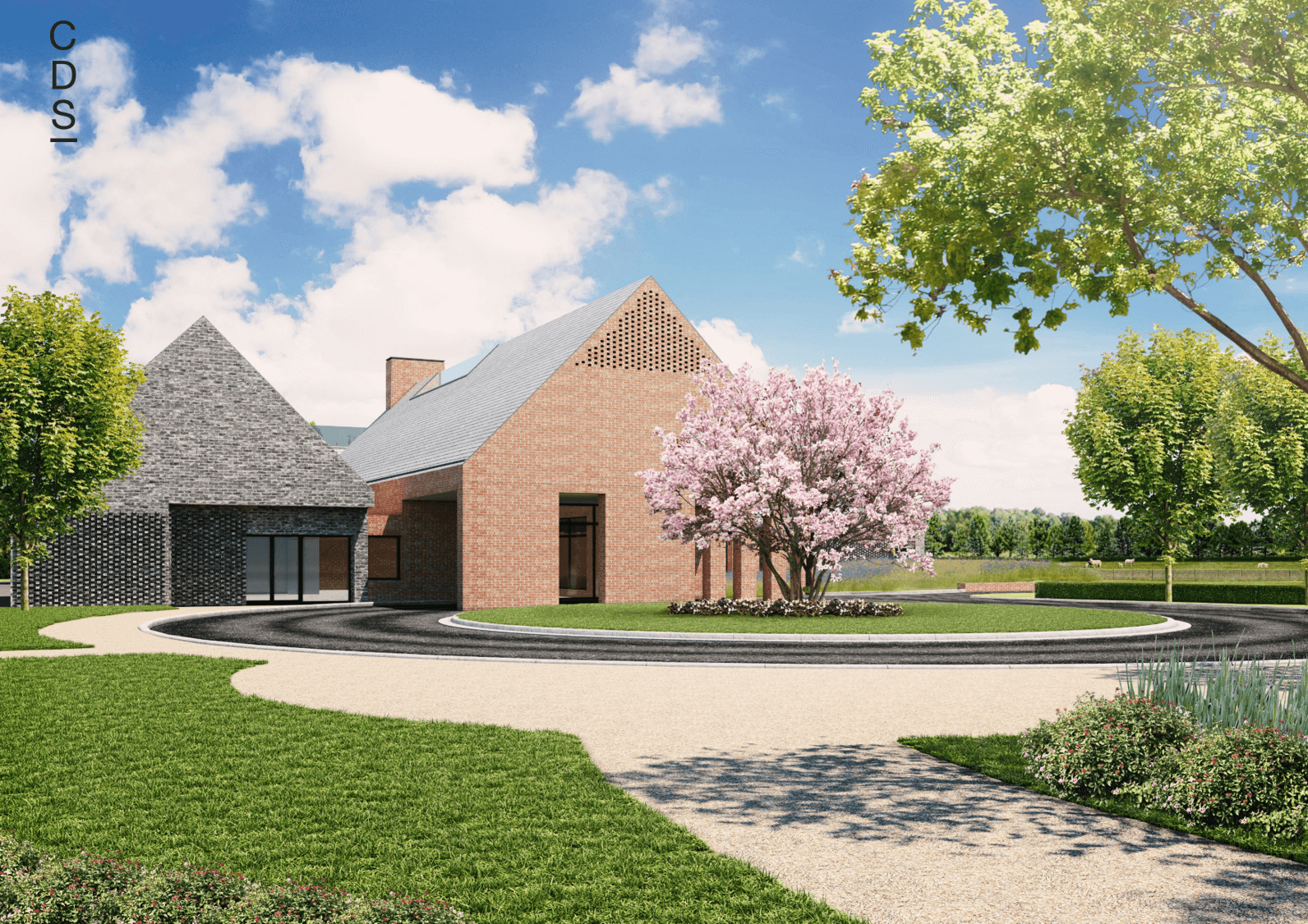 The CDS Group, Hambleton Crematorium Design with Electric Cremators, Green Agenda