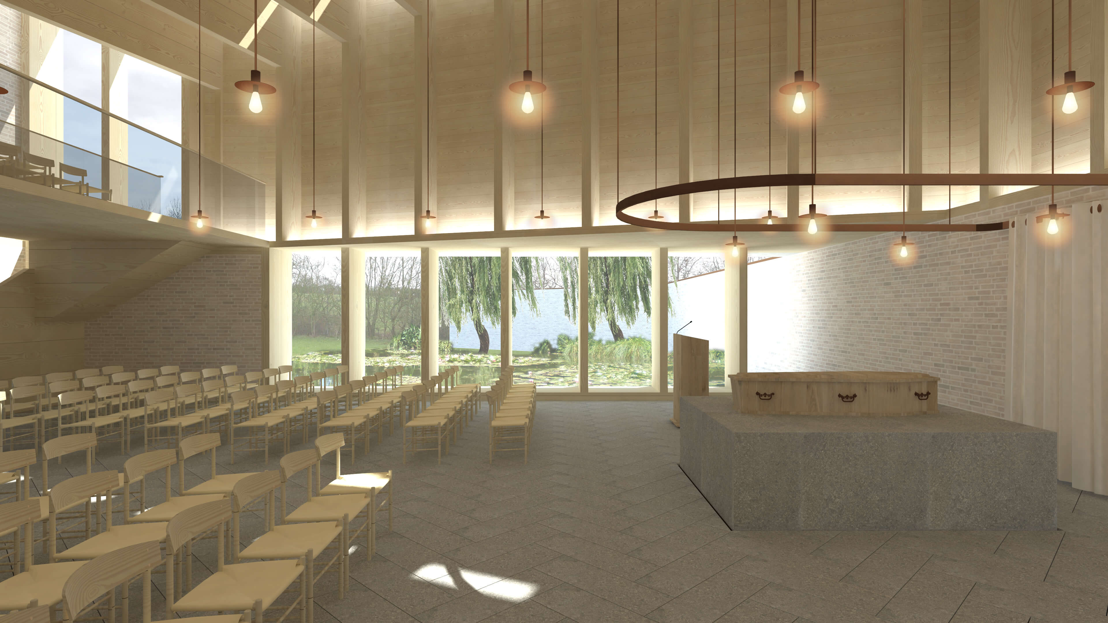 Internal Crematorium Refurbishment Design