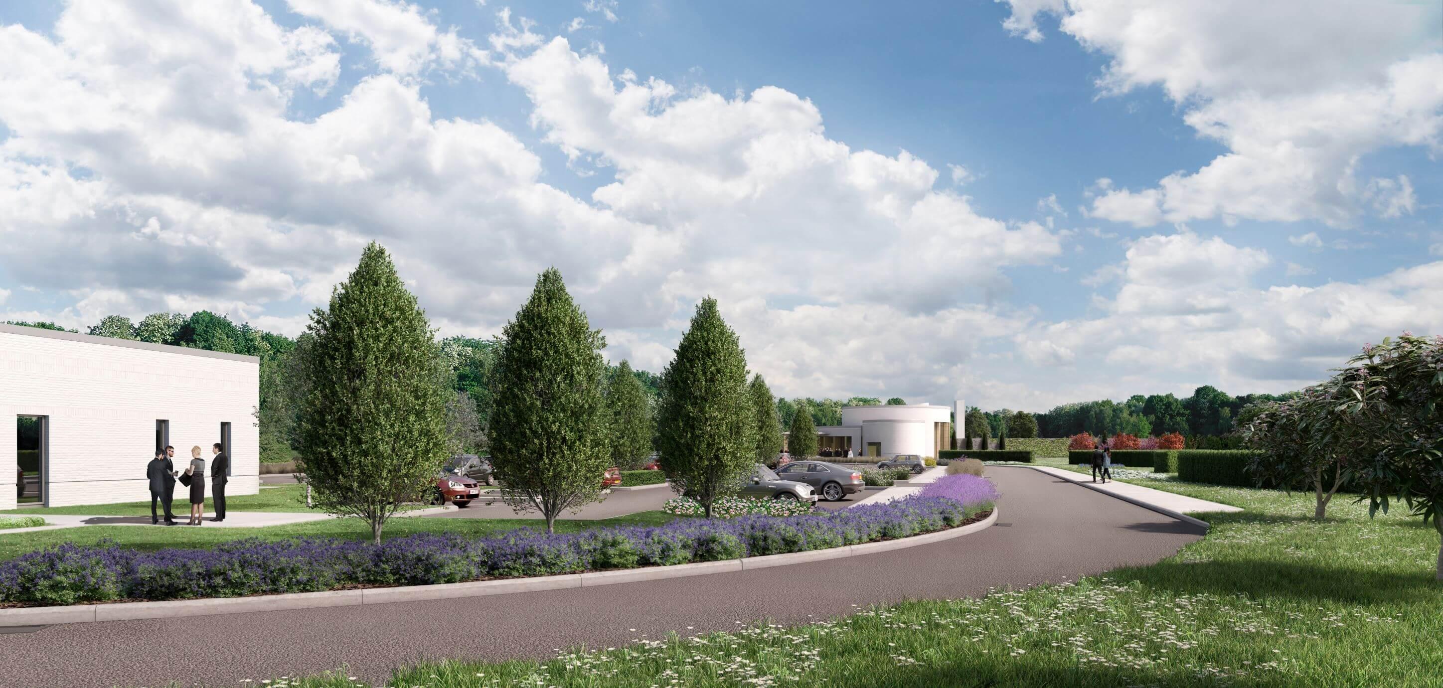 Huntingdon Crematorium, landscape and biodiversity