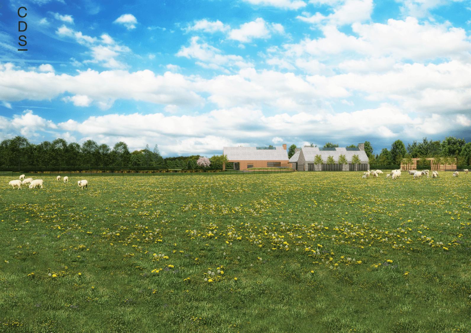 Hambleton Crematorium Landscape View
