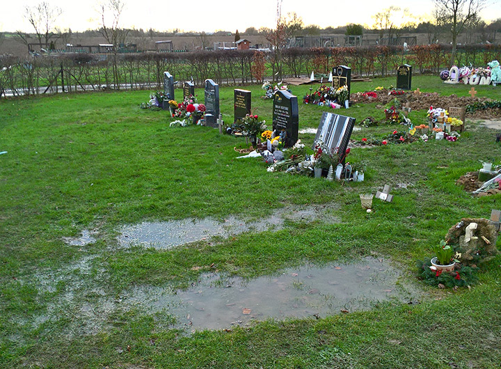 Groundwater Risk Assessment Cemetery flooding