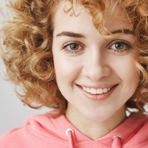 2B Curly Hair