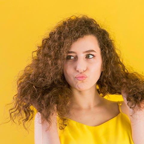 3B Curly Hair