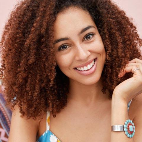 4B Curly Hair