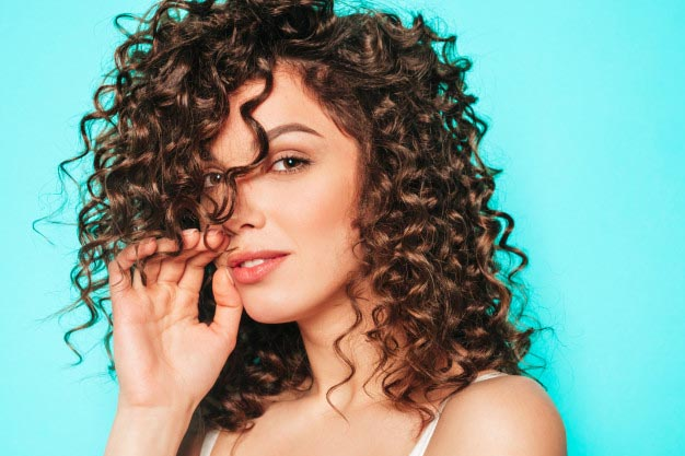 how to add volume to curly hair with diffuser
