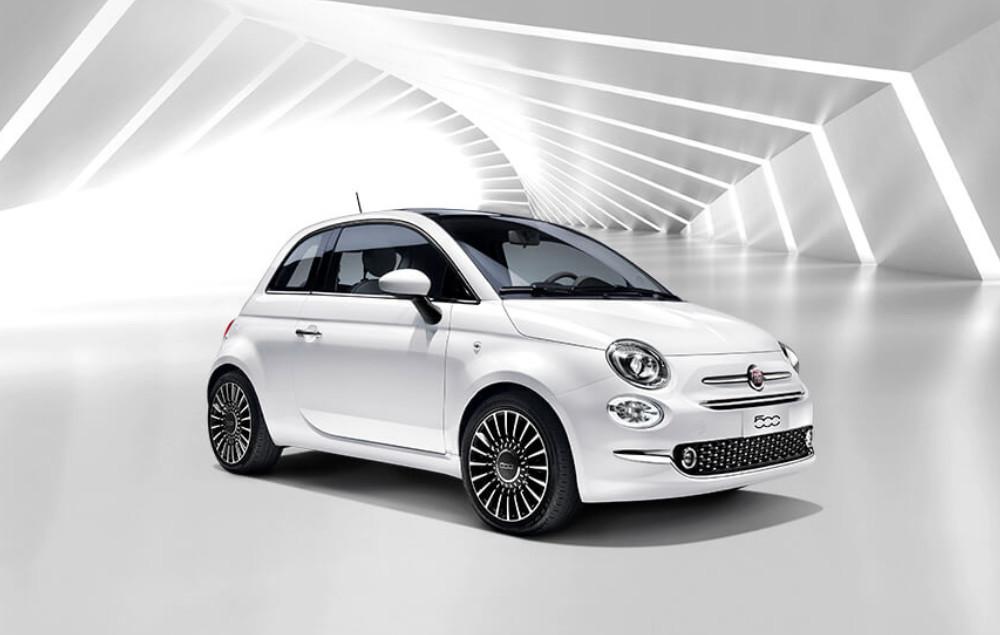 Fiat 500 Weiß