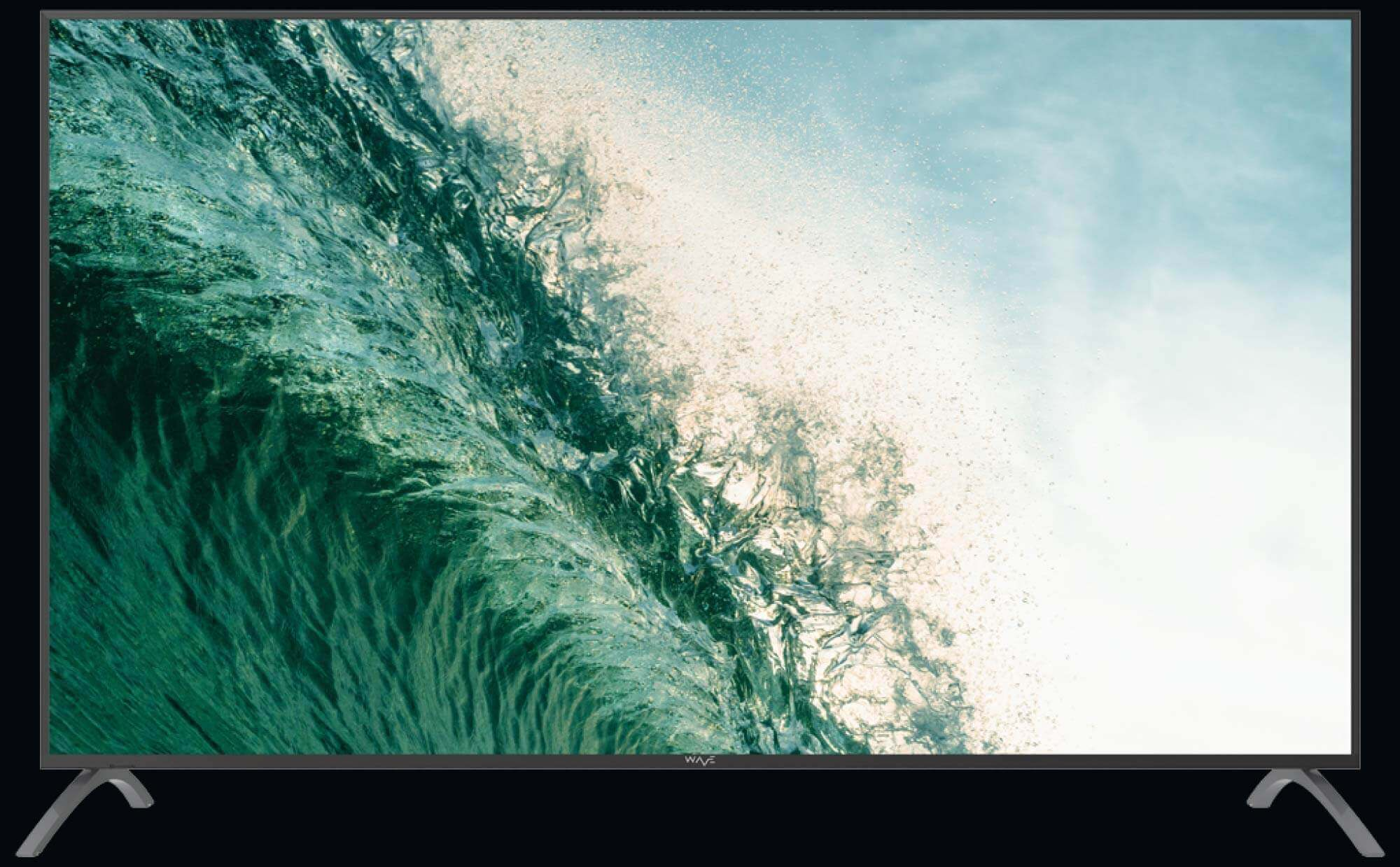 WAVE Electronics introduces Tsunami - a spectacular smart TV with a massive 86 inch 4K screen