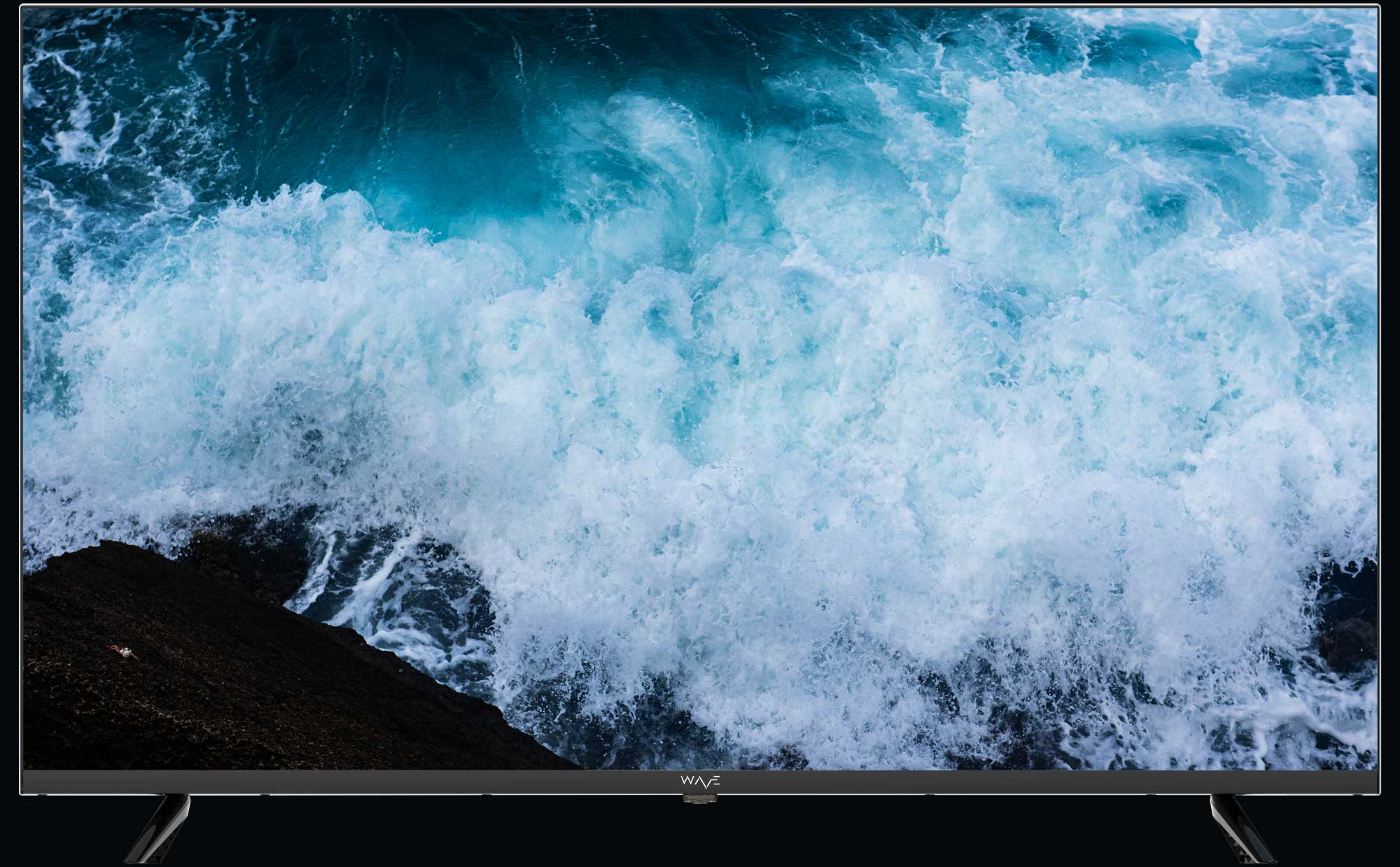 Experience the gorgeous frameless screen of WAVE Electronics best seller STREAM