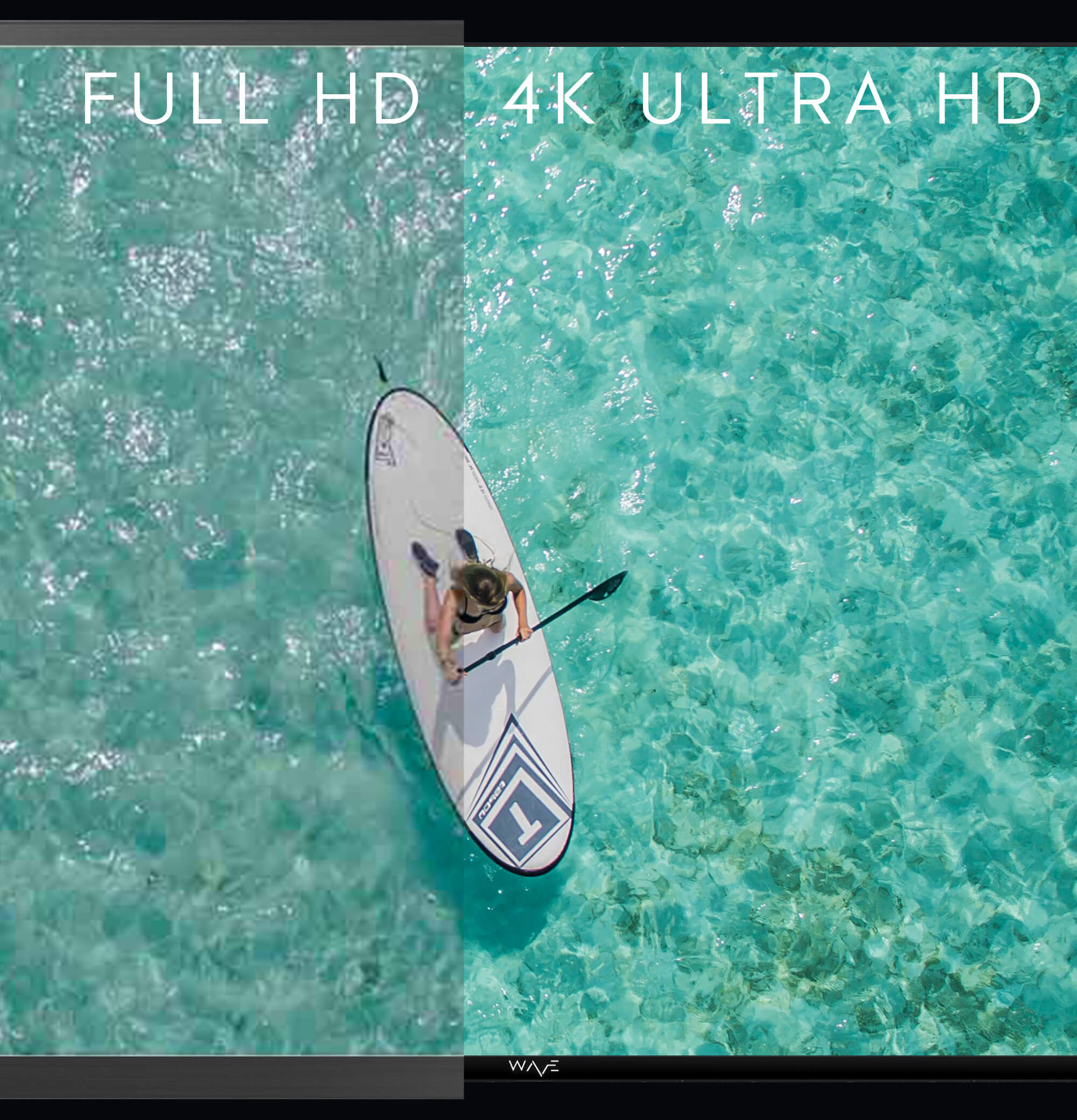 Ultra HD offers four times the pixel resolution of Full HD