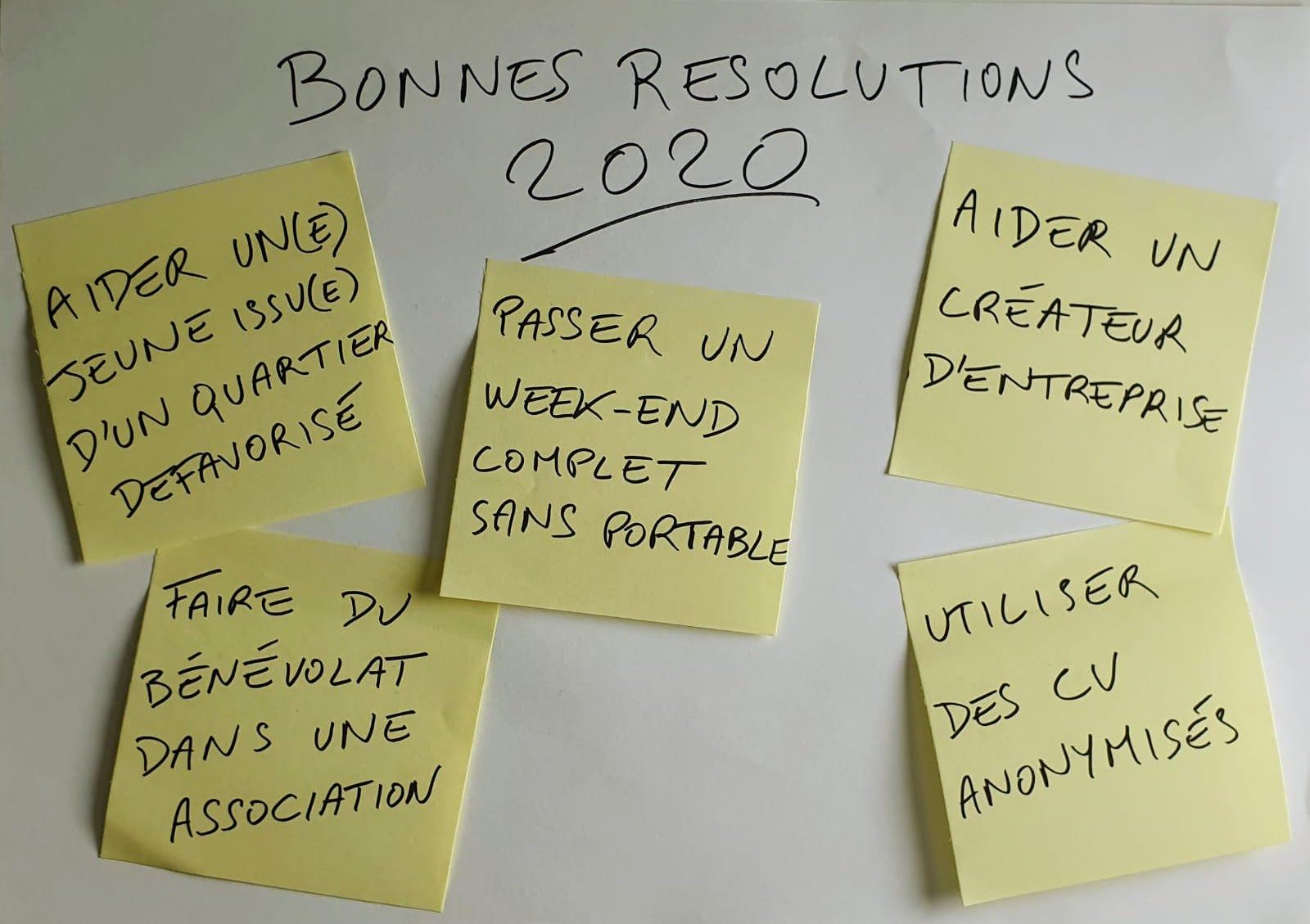 Faites de vos résolutions de début d'année un levier d'action sur le plan personnel et professionnel