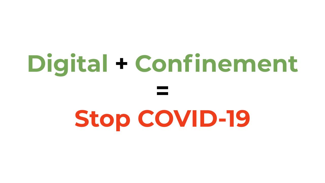 Coronavirus: comment le digital peut vous aider à faire face au COVID-19... et au confinement
