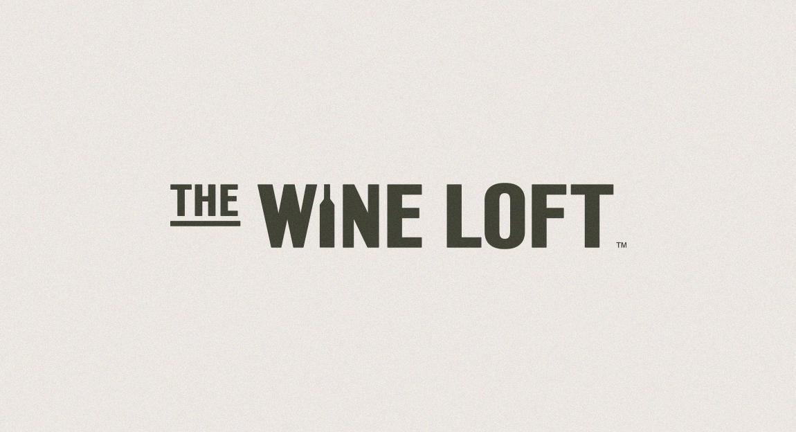 The Wine Loft brand logo green on white