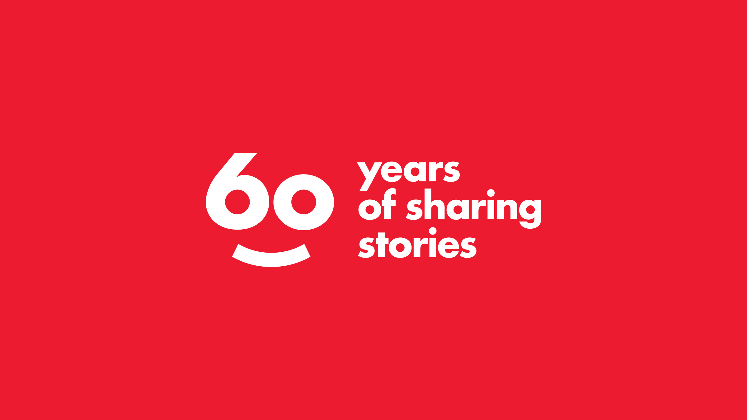 Scholastic 60 year celebratory logo lockup