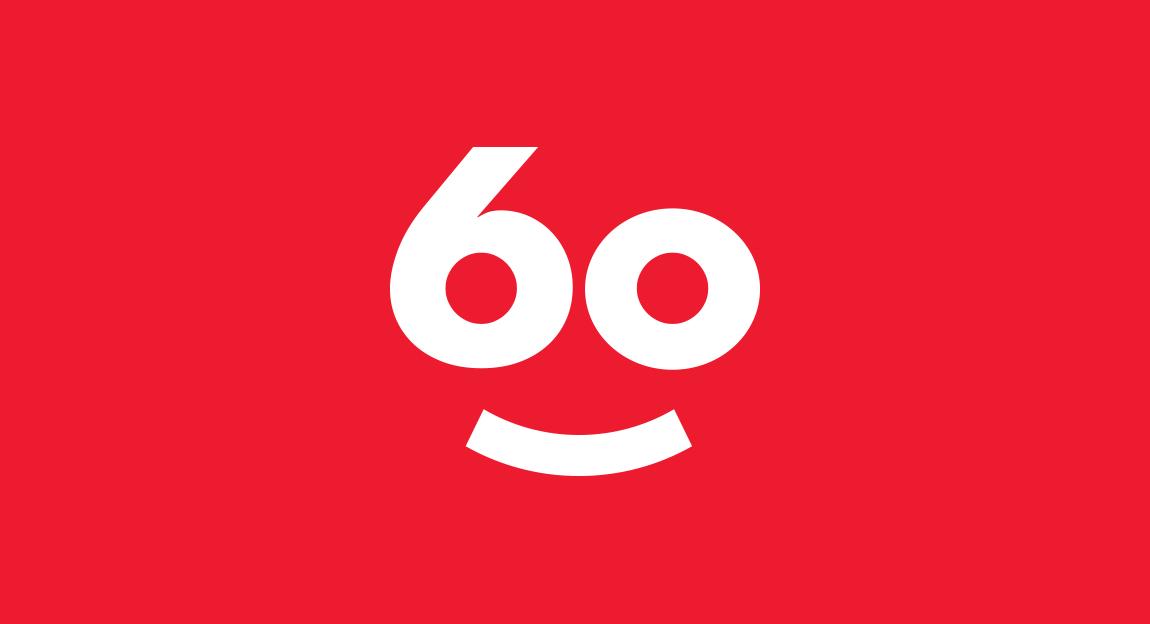 Scholastic 60 year celebratory logomark