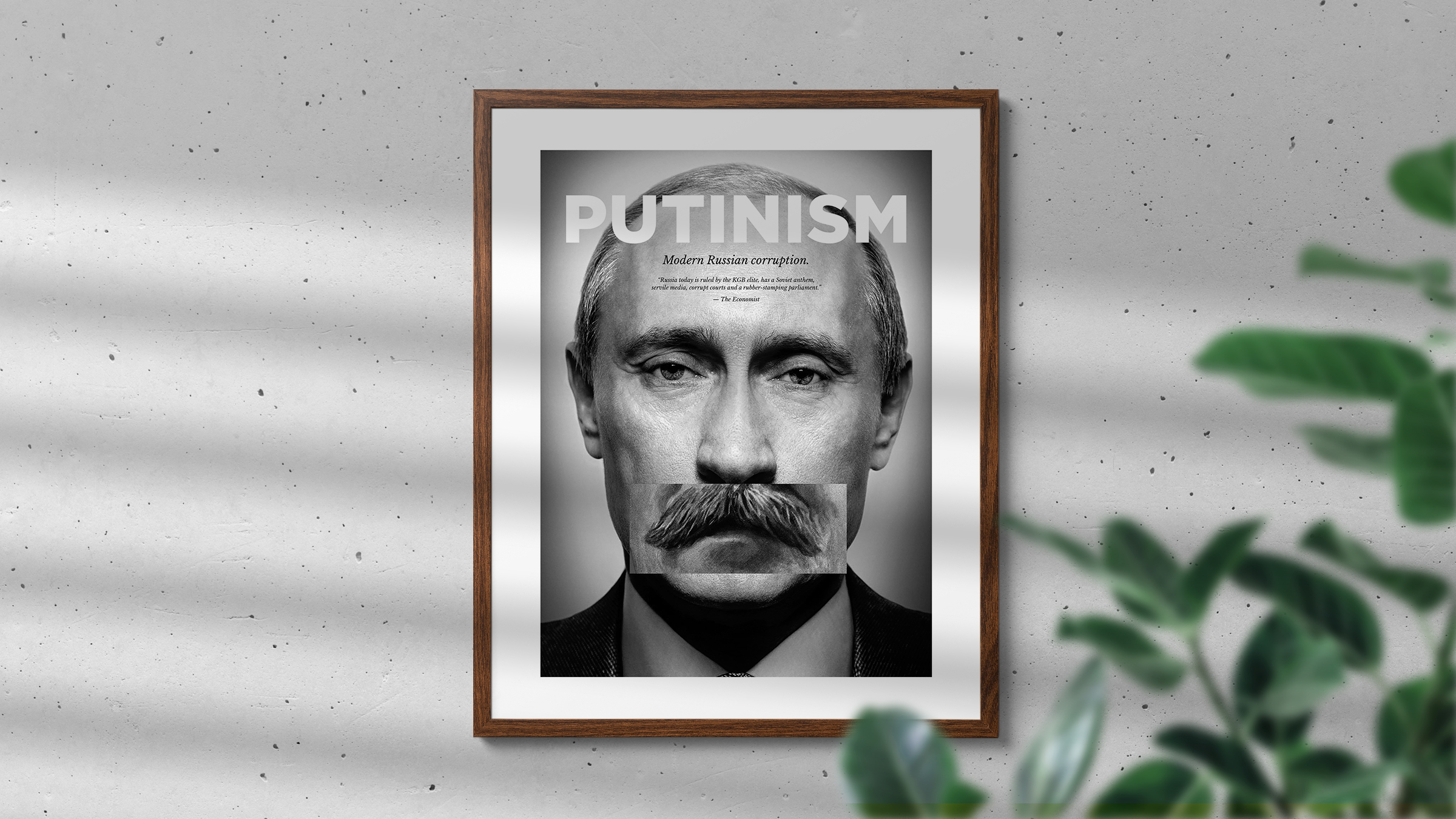 Putinism poster