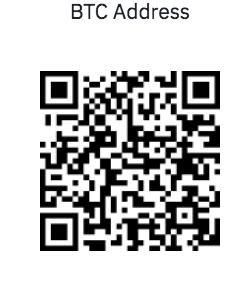 Deposit BTC Wallet Address
