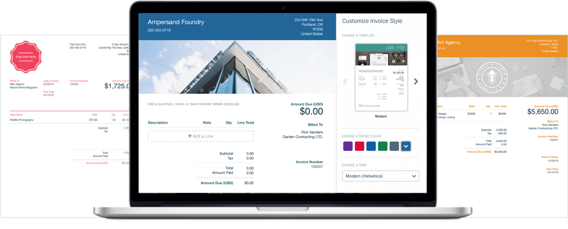 Freshbooks — accounting and finance online software