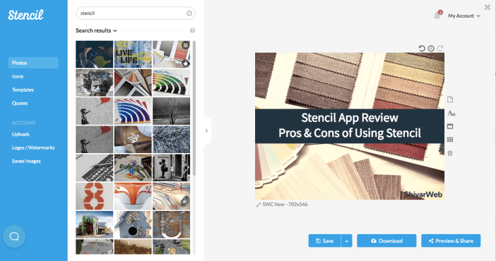 Stencil App Review: Pros & Cons of Using Stencil for Design