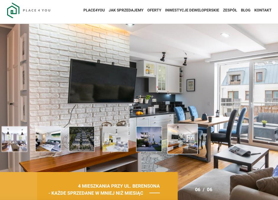 Client's website