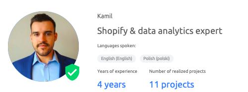 Data analytics expert