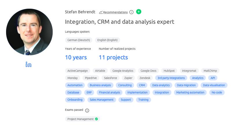 Database design expert