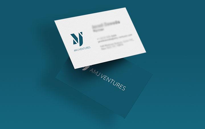 AMJ Ventures Branding website