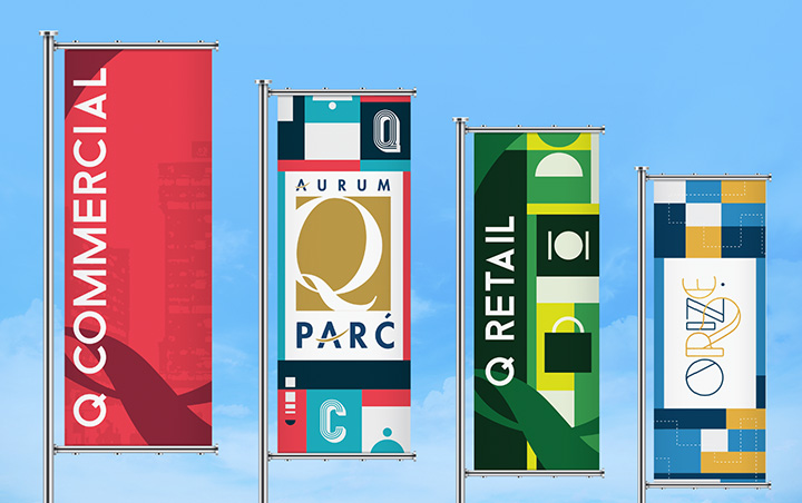 Aurum Ventures Q Parc Branding