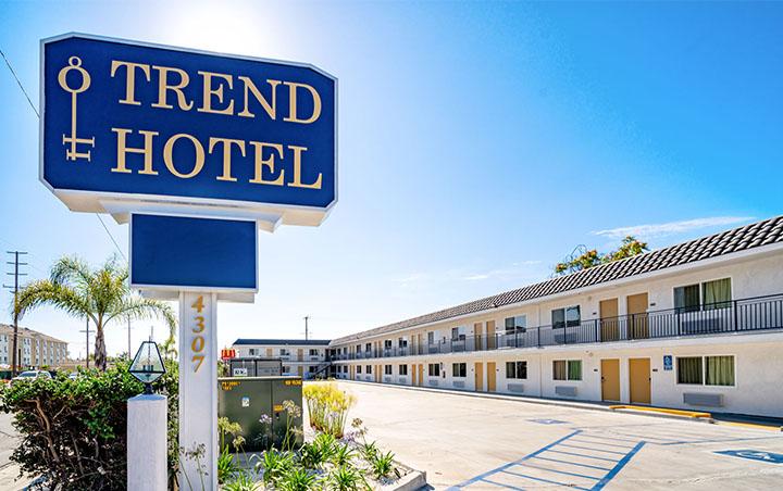 trend hotel Los Angles branding