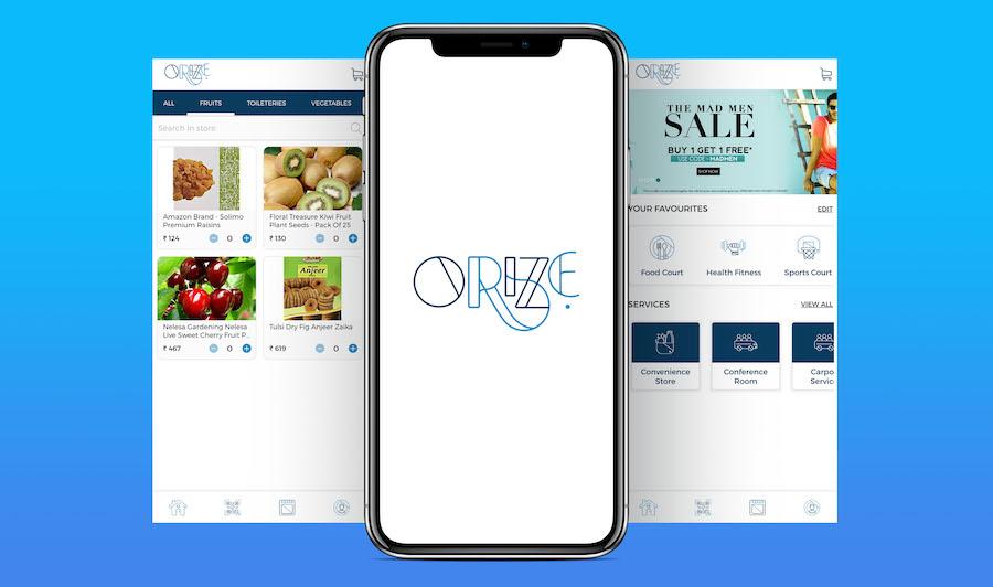 Orize App Design UI UX