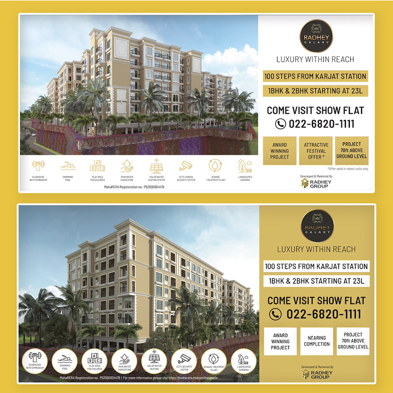 Radhey Group Hoarding Design