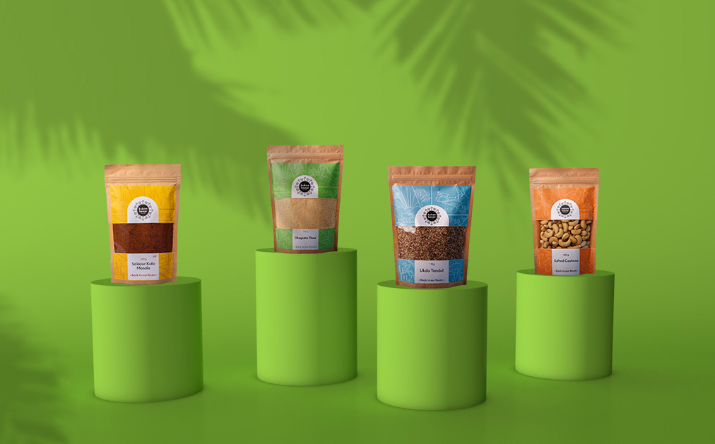 Kokan Bazar Branding Packaging
