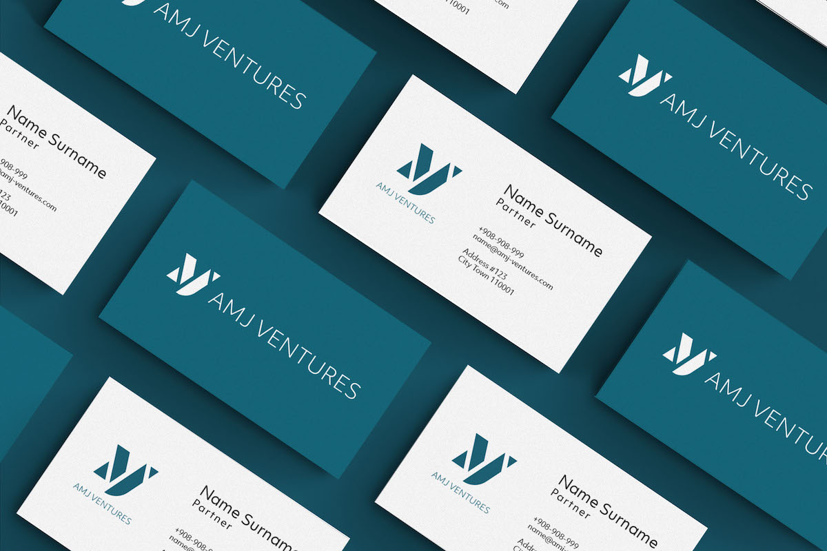 AMJ Ventures Branding
