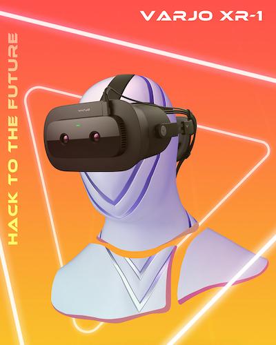 MIT Reality Hack Branding Image Varjo XR1