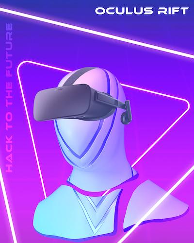 MIT Reality Hack Branding Oculus Rift
